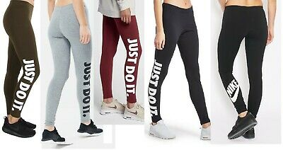 Nike Womens Jdi Leggings Leggins Joggers Jogging Bottoms Running Pants Gym