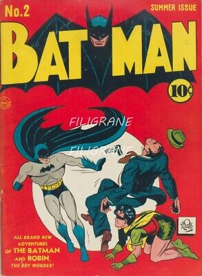 BATMAN  Rpbq-POSTER/REPRODUCTION A3+* d1 AFFICHE VINTAGE