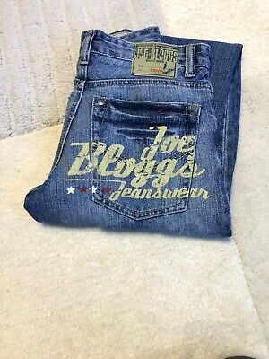 authentic Boys Joe Bloggs Jeans. Retro Style.  Age 11-12 Distressed Look A1