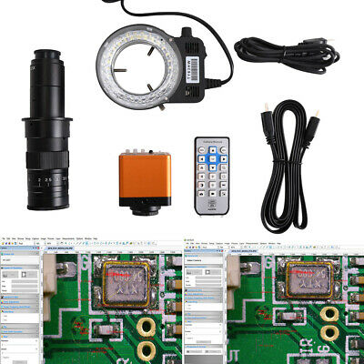 41MP HDMI USB Industrial Electronic Digital Video Microscope Camera Kit HD 1080P