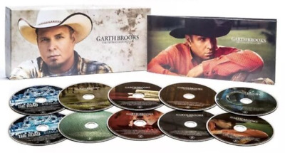 Garth Brooks The Ultimate Collection 10 Disc Set ENTERTAINER OF THE YEAR *SEALED