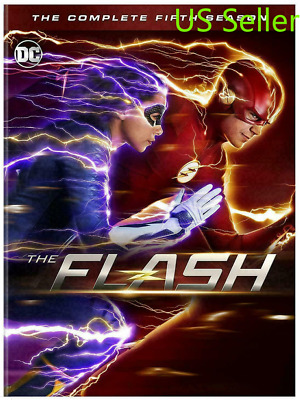 The Flash: The Complete Fifth Season 5 (DVD, 2019, 5-Disc set) New