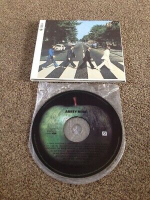 THE BEATLES Abbey Road Enhanced CD Lennon McCartney Harrison Starr Something