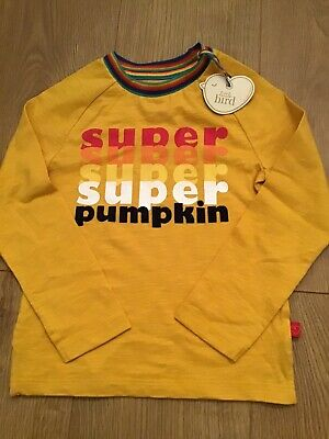 Little Bird By Jools Oliver Super Pumpkin Long Sleeve Top Age 2-3 Years 🍄🌈🍄