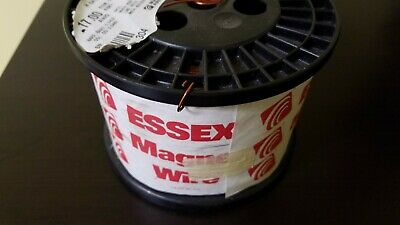 17 AWG 9 lbs Superior Essex GP/MR-200 Copper Magnet Wire New Spool 10.6
