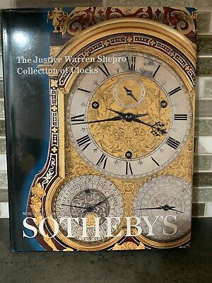 Sotheby's The Justice Warren Shepro Collection Of Clocks April 2001 Auction