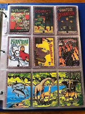 The Phantom Dynamic Series 2 Trading card set + signed Ford embossed set - 38/63