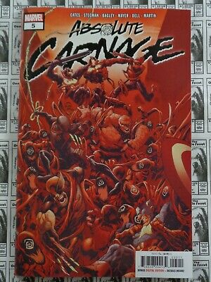 Absolute Carnage (2019) Marvel - #5, 1st Print, Donny Cates/Ryan Stegman, NM