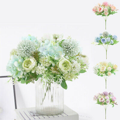 Artificial Flower Silk Heads Roses Wholesale Lots Wedding Party Birthday Xams AC