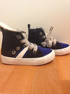 Boys High Top Shoes Size 7 Cotton On Kids New With Tags