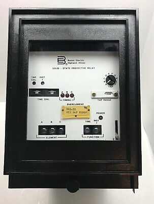 Basler Electric BE1-51 Overcurrent Solid State Protective Relay