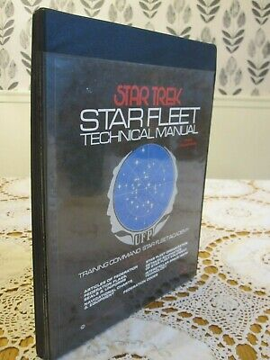 STAR TREK STAR FLEET TECHNICAL MANUAL 1975 HC 1st/1st Fully Illustrated