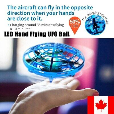 CA Kids Mini Drone Infrared Sensor UFO Flying Toy Induction Aircraft Quadcopters