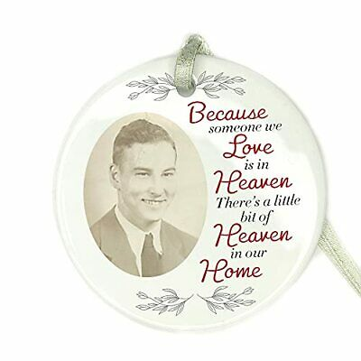 Personalised Photo Remembrance Bauble Tree Decoration Christmas Memorial Gifts
