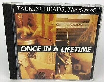 Talking Heads The Best Of Once In A Lifetime CD Album 1992 EMI Records