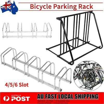 4/5/6 Bikes Stand Bicycle Rack Floor Parking Instant Storage Cycling Portable AU
