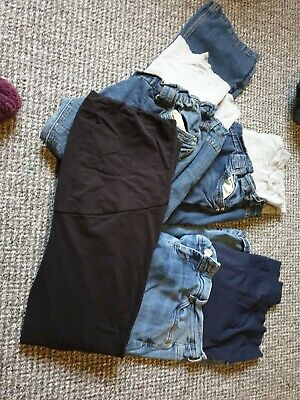 Bundle Of Maternity Jeans And Leggings Size 16