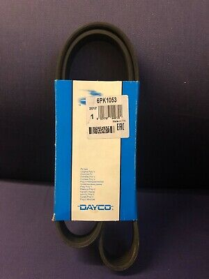 DAYCO POLY V-RIBBED BELT 6DPK1320 6 RIBS 1320MM AUXILIARY FAN DRIVE ALTERNATOR