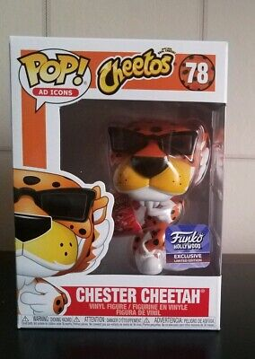 Funko Pop! Ad Icon: Cheetos Chester Cheetah#78 Funko Hollywood Exclusive LE