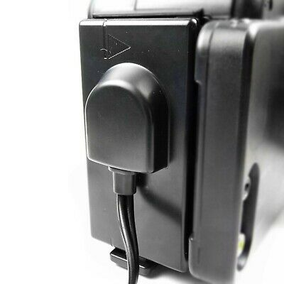 Sony Handycam DC Camcorder Cable Lead Connects Charger to NP-66H Battery Socket