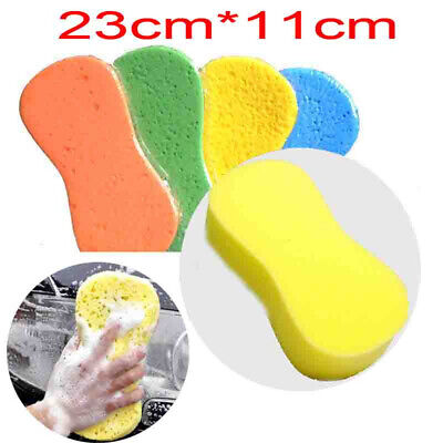 1x Large Size Car Auto Care Wash Soft Sponge Washing Household Cleaning Tool New