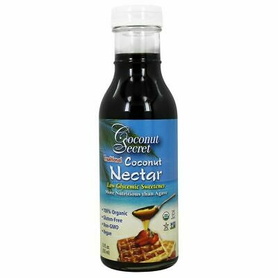 Coconut Secret, Traditional Coconut Nectar, Low Glycemic Sweetener, 355ml