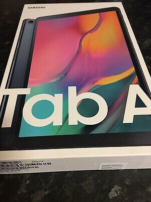 Samsung Galaxy Tab A 2019 32GB, Wi-Fi, 10.1in. Black. Still Sealed. Never Opened