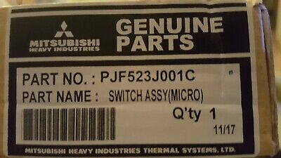 Mitsubishi Heavy Micro Switch Assembly PJF523J001C Air Conditioning AC