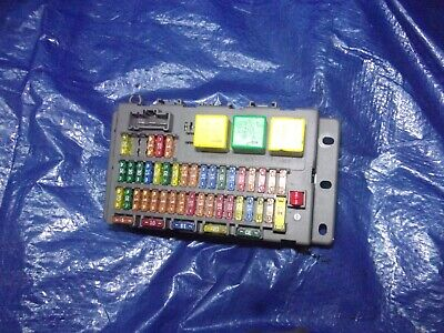 Mg Zt Ztt Rover 75 2.5 V6 In Car Fuse Box 1999 To 2004 Shape