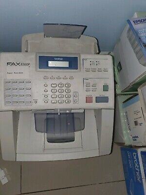 Brother Fax-8360p A4 All-In-One Mono Laser Fax Machine