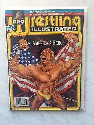 Pro Wrestling Illustrated June 1991 Hulk Hogan Ric Flair Sid Vicious (Very Good)