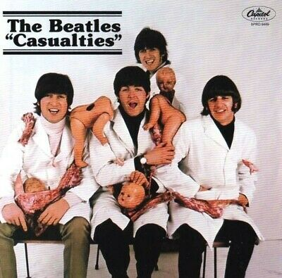 The Beatles Casualties Capitol Masters Expanded Edition CD 2 Discs Case Set F/S