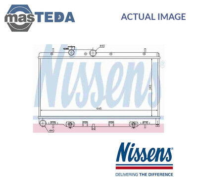 64115 NEXT WORKING DAY DELIVERY TO UK NISSENS Engine Coolant Radiator