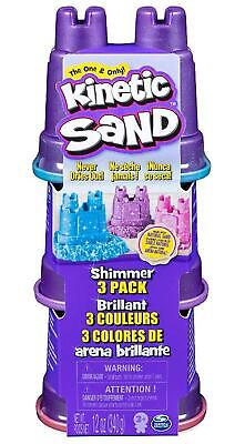 Kinetic Sand Shimmers, 3 Pack - Spin Master Free Shipping!