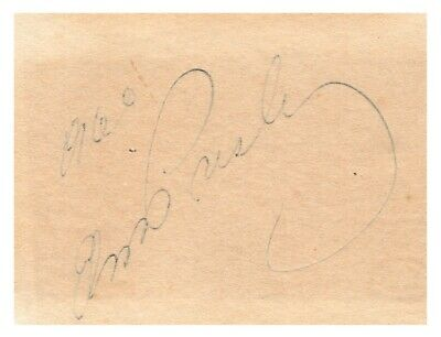 Elvis Presley - Signature - Authenticated by International Autograph Auctions