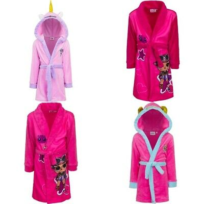 Girls bathrobes Unicorn LOL Surprise bathrobe dressing gown