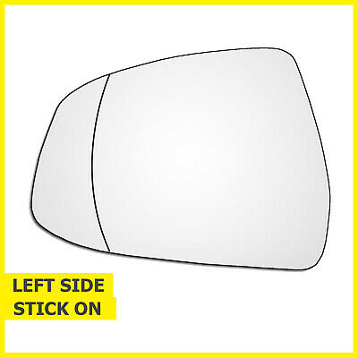For Ford Focus 2008-2018 Left passenger side Electric wing mirror glass