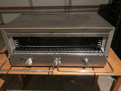 Roband Commercial Grill Max Top/Bottom Heat 3360W Toaster Griller GMX810