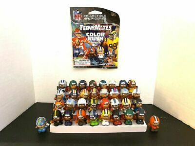 """NFL Series 8 Color Rush Teeny Mates 1"""" Football Toy Figures (You Choose) 2019"""