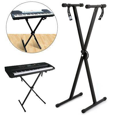 Electronic Piano X Music Standard Keyboard Stand Portable Rack Adjustables
