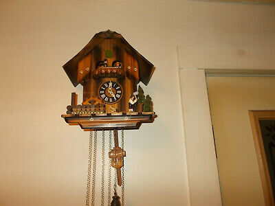 Musical Cuckoo Clock Wood Chopper