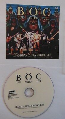 BLUE OYSTER CULT  ** FLORIDA HOLLYWOOD 1981 **    The Video