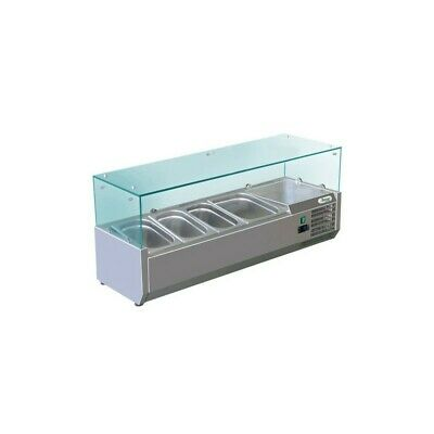 Showcase Refrigerated Carries Ingredients for Pizzeria 120 cm - 3 Pots Gn 1/3