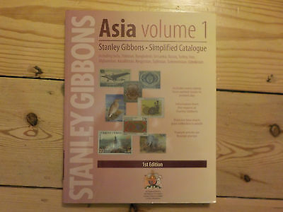 SPECIAL PRICE! STANLEY GIBBONS - Asia Simplified Stamp Catalogue 1st edition B