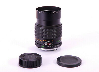 Auto MAKINON MC 1:2.8 135mm OM for Olimpus Lens Made in Japan MINT Cond
