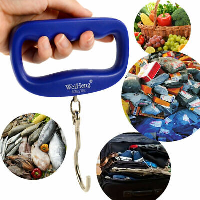 50kg/10g Portable Weight LCD Digital Luggage Hanging Electronic Hook Scale NEW