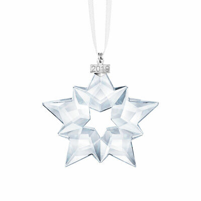 Swarovski Crystal 2019 ANNUAL EDITION LARGE CHRISTMAS ORNAMENT AUTHENTIC