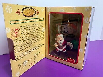 Enesco Masterpiece 50 Years of Miracles Christmas Ornament 1997 Miracle 34th St