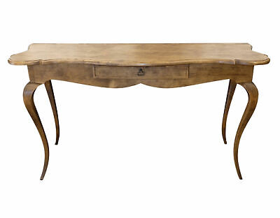 """1945-401 Minton-Spidell """"Venetian"""" French Country Style Wood Console Table"""