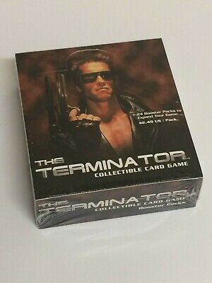 Terminator CCG Booster Box - TCG  - Brand New & Sealed 24 Packets Precedence